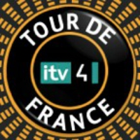 Logo of the podcast ITV TDF STAGE 4 2015