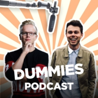 Logo of the podcast Dummies Podcast