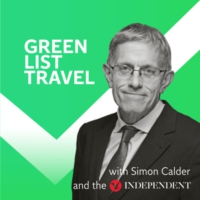 Logo of the podcast Green List Travel with Simon Calder and the Independent