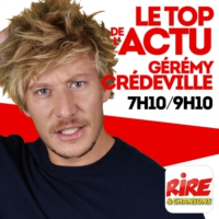 Logo of the podcast Gérémy Crédeville - Le top de L'actu - 20 octobre 2017