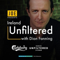 Logo of the podcast Ireland Unfiltered with Dion Fanning