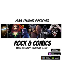 Logo of the podcast Rock & Comics