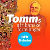 Logo of the podcast Tomms afrikanske fortellinger