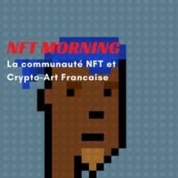 Logo du podcast NFT Morning, Decouvrez tous les projets NFT et Crypto-art