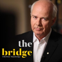 Logo of the podcast The Bridge with Peter Mansbridge