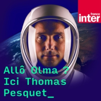Logo du podcast Allo Olma, ici Thomas Pesquet