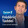 Logo of the podcast C'est arrivé demain - Frédéric Taddeï