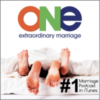 Logo du podcast ONE Extraordinary Marriage Show | Sex. Love. Commitment.