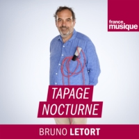 "Logo of the podcast Portrait et ""live"" de Franck Dadure (et Elliot) dans Tapage nocturne"