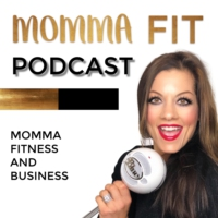 Logo of the podcast Momma Fit Podcast