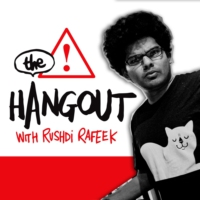 Logo of the podcast The Hangout with Rushdi
