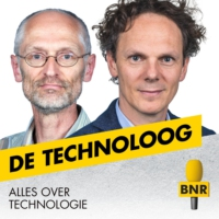 Logo of the podcast E-health breekt door