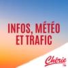 Logo du podcast INFOS, METEO et TRAFIC de Chérie FM