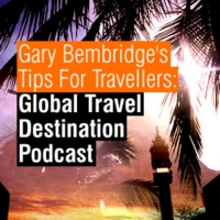Logo of the podcast -- TIPS FOR TRAVELLERS: The Travel Destination Podcast --