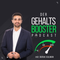 Logo of the podcast Der Gehaltsbooster-Podcast