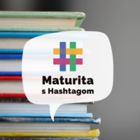 Logo of the podcast Maturita s Hashtagom