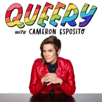 Logo of the podcast QUEERY with Cameron Esposito