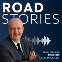 Logo du podcast Road Stories, le podcast de Jean-Philippe Imparato, CEO de Peugeot
