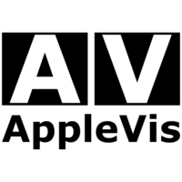 Logo of the podcast AppleVis Podcast