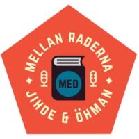 Logo of the podcast Mellan raderna - en podcast om läsning