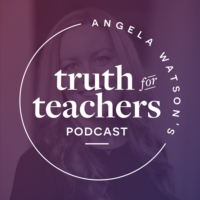 Logo of the podcast Angela Watson's Truth for Teachers