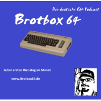 Logo of the podcast Brotbox64_Podcast_11-2017