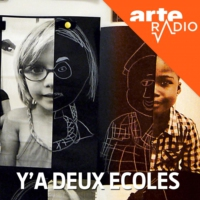 Logo of the podcast ARTE Radio | Y'a deux écoles