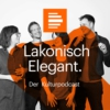 Logo of the podcast Lakonisch Elegant. Der Kulturpodcast