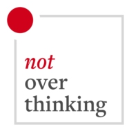 Logo du podcast 2019: The Not Overthinking Review
