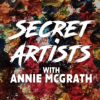 Logo of the podcast Secret Artists with Annie McGrath
