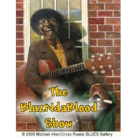 Logo of the podcast The BluzNdaBlood Show #353, Black and Blues!