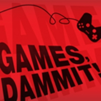 Logo of the podcast 1UP.com - Games, Dammit!