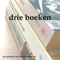 Logo du podcast drie boeken