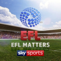 Logo of the podcast EFL Weekly - Darren Bent, Neil Harris and Nathan Jones
