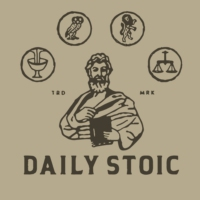 Logo du podcast The Daily Stoic