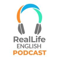 Logo du podcast The RealLife English Podcast