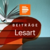 Logo of the podcast Lesart - das Literaturmagazin - Deutschlandfunk Kultur