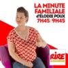 Logo of the podcast La minute familiale d'Elodie Poux
