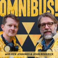 Logo of the podcast Omnibus! With Ken Jennings and John Roderick
