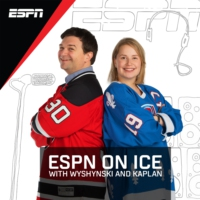 Logo du podcast ESPN On Ice with Wyshynski and Kaplan