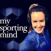 Logo of the podcast My Sporting Mind...with Terry Brazier