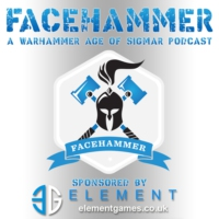 Logo of the podcast FaceHammer Episode 79: AoS GT Final 2019!