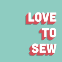 Logo of the podcast Love to Sew Podcast