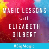 "Logo of the podcast Magic Lessons Ep. #12: Brene Brown on ""Big Strong Magic"""