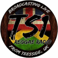 Logo of the podcast TS1 Reggae Radio V8UK  'LIVE' 7pm