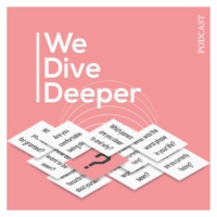 Logo of the podcast We Dive Deeper