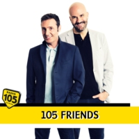 Logo du podcast 105 Friends - Chiara Francini