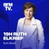 Logo du podcast 19H Ruth Elkrief