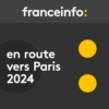 Logo of the podcast En route vers Paris 2024