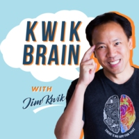 Logo of the podcast Kwik Brain with Jim Kwik